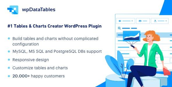 Main Banner for wpDataTables plugin_feb