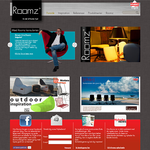 Roomz Website