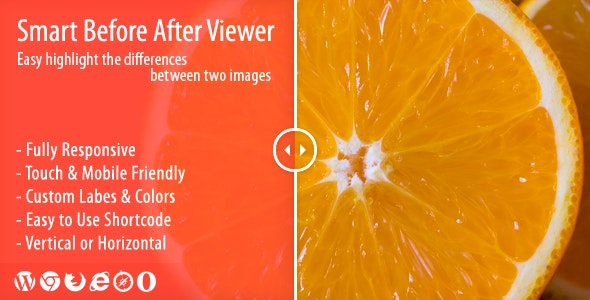 Smart Before After Viewer - Responsive Image Comparison Plugin