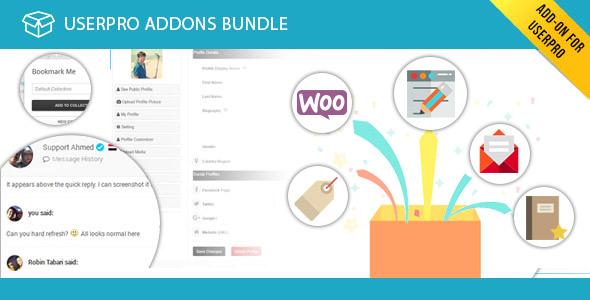 UserPro Addons Bundle
