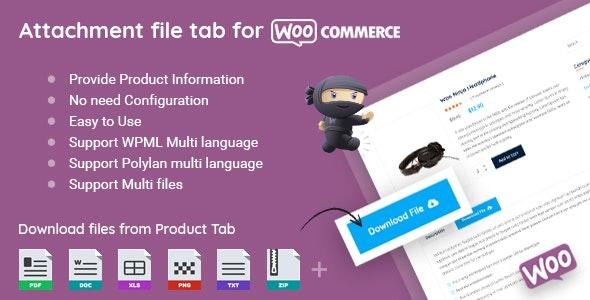 WooCommerce Product Files Tab v2.0