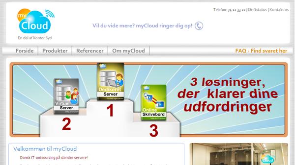 mycloud-hjemmeside