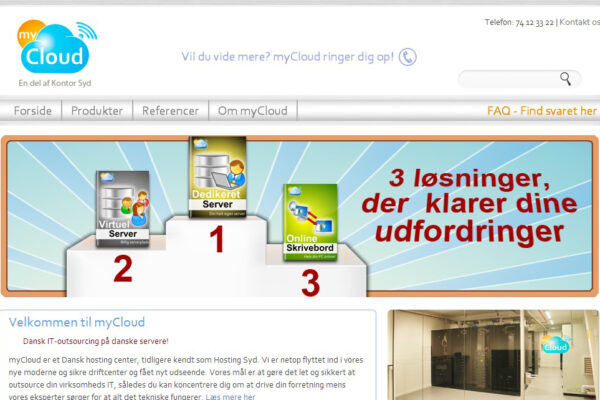 mycloud website