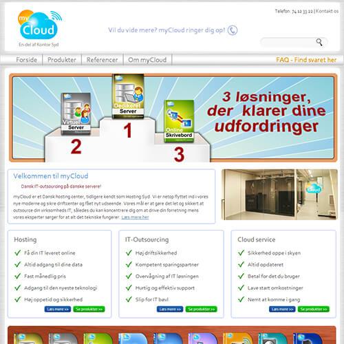 2013 <br>myCloud <br>(CI + hjemmeside)