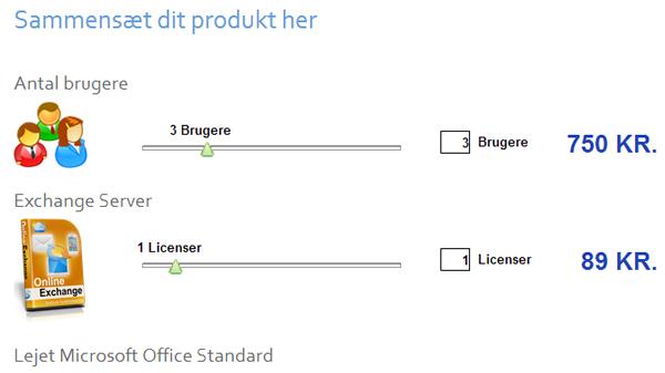 produktslidere